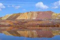 panorámica del cerro colorado