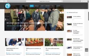 La nueva web de Onda Minera RTV Nerva