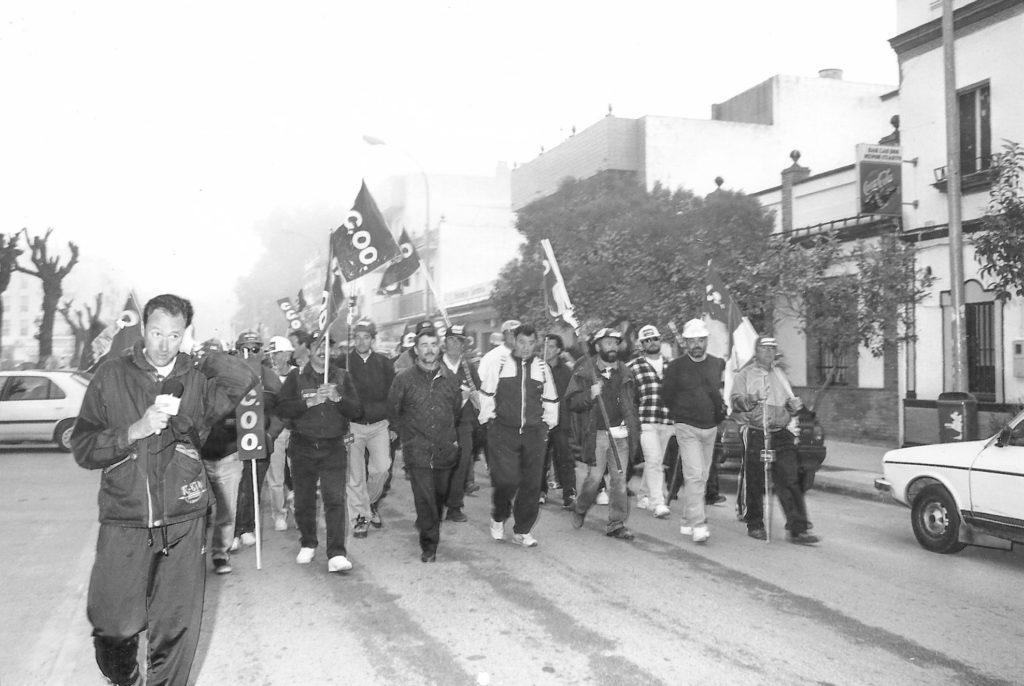 Marcha Minera e Sevilla