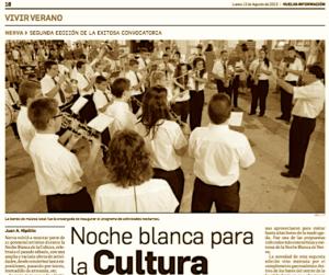Noche Blanca de la Cultura 2013 Nerva