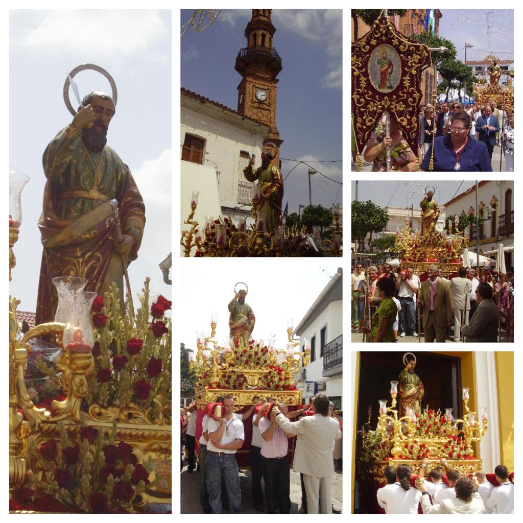 Insólita procesión de San Bartolomé en 2007