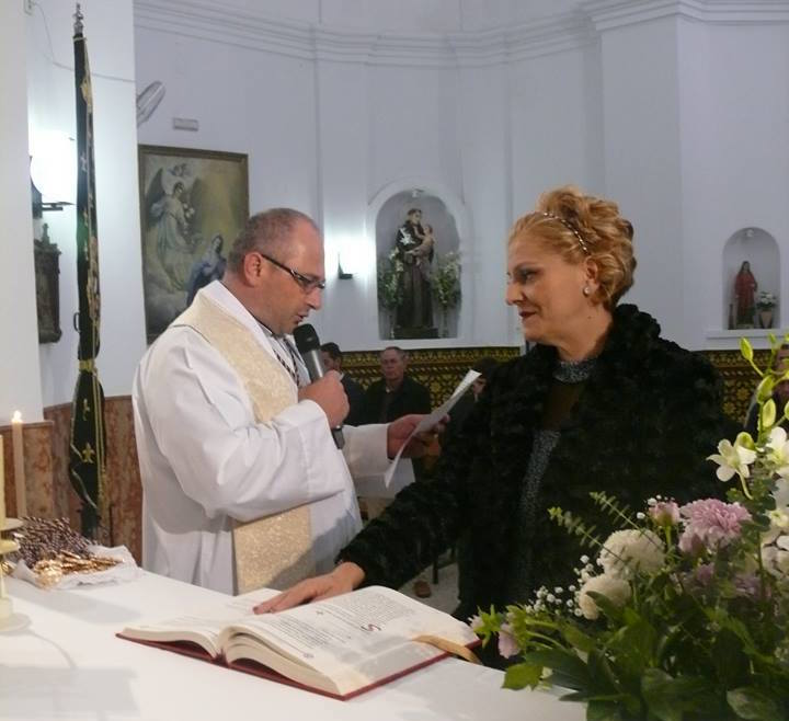 Rocío Domínguez, Hermana Mayor del Gran Poder de Nerva