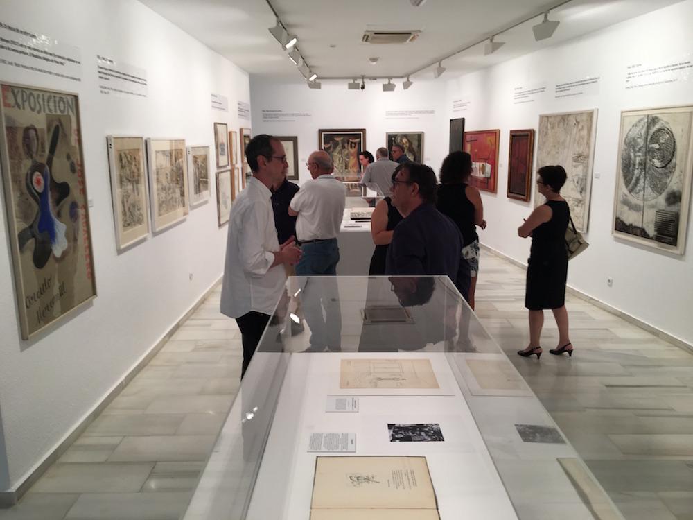 Exposición de José Caballero en Nerva